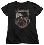 Womens: Labyrinth - Globes T-shirts