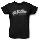 Womens: Invasion of the Body Snatchers - Men Of Science T-Shirt