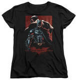 Womens: Dark Knight Rises - Batman & Bane T-shirts