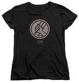Womens: Hellboy II - Mignola Style Logo Shirts