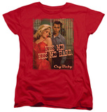 Womens: Cry Baby - Kiss Me T-shirts
