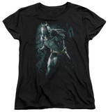 Womens: Dark Knight Rises - Batman Rain T-Shirt
