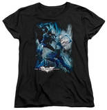 Womens: Dark Knight Rises - Showdown T-shirts