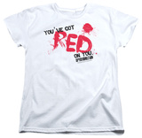 Womens: Shaun Of The Dead - Red On You Shirts