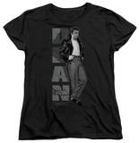 Womens: James Dean - Standing Leather T-Shirt