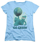 Womens: Gumby - Go Green Shirts