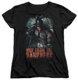 Womens: Dark Knight Rises - Rise From Darkness T-Shirt