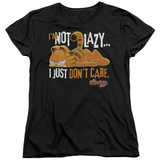 Womens: Garfield - Not Lazy T-Shirt