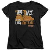 Womens: Garfield - Not Lazy T-Shirt
