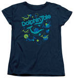 Womens: Dolphin Tale - Bubbles Shirts