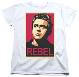 Womens: James Dean - Rebel Campaign T-shirts