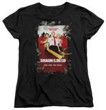 Womens: Shaun Of The Dead - Poster Shirt