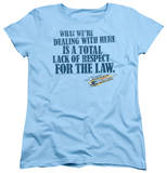 Womens: Smokey And The Bandit - Lack Of Respect Shirts