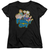Womens: Family Guy - Family Fight T-Shirt