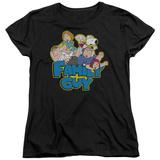 Womens: Family Guy - Family Fight T-Shirt