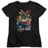 Womens: Justice League - Starburst T-shirts