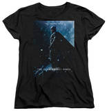 Womens: Dark Knight Rises - Batman Poster T-Shirt