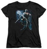 Womens: Dark Knight Rises - Battlefield Gotham T-shirts