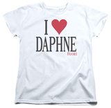 Womens: Frasier - I Heart Daphne T-shirts