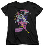 Womens: Justice League - Colorful League T-Shirt