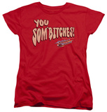 Womens: Smokey And The Bandit - Sombitch T-Shirt