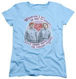 Womens: I Love Lucy - Lucy's Workout Shirts