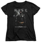 Womens: Dark Knight Rises - Batman Rise T-shirts