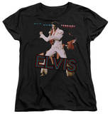 Womens: Elvis Presley - Hit The Lights T-shirts