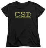 Womens: CSI - Collage Logo T-shirts