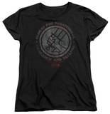 Womens: Hellboy II - BPRD Stone T-Shirt