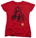 Womens: Hellboy II - Splatter Gun T-shirts
