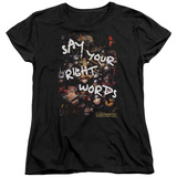 Womens: Labyrinth - Right Words T-shirts