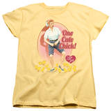 Womens: I Love Lucy - Cute Chick T-Shirt