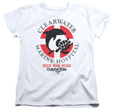 Womens: Dolphin Tale - Clearwater Logo T-Shirt