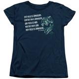 Womens: Jurassic Park - God Creates Dinosaurs Shirts