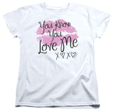 Womens: Gossip Girl - You Love Me Shirts