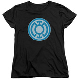 Womens: Green Lantern - Blue Symbol T-shirts