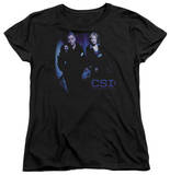 Womens: CSI - At The Scene T-shirts