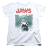 Womens: Jaws - Vintage Poster T-Shirt