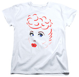 Womens: I Love Lucy - Lines Face T-Shirt