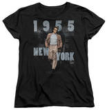 Womens: James Dean - New York 1955 T-Shirt