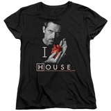 Womens: House - I Heart House T-shirts