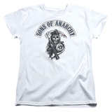 Womens: Sons Of Anarchy - Bloody Sickle T-shirts