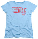 Womens: Jaws - Bigger Boat T-Shirt