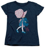 Womens: Holly Hobbie - Holding A Cat T-Shirt
