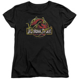 Womens: Jurassic Park - Something Has Survived T-shirts