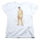 Womens: Elvis Presley - Gold Lame Suit T-shirts