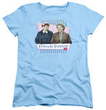 Womens: I Love Lucy - Friends Forever T-shirts