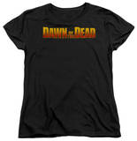 Womens: Dawn Of The Dead - Dawn Logo Shirt
