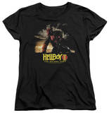 Womens: Hellboy II - Poster Art Shirt